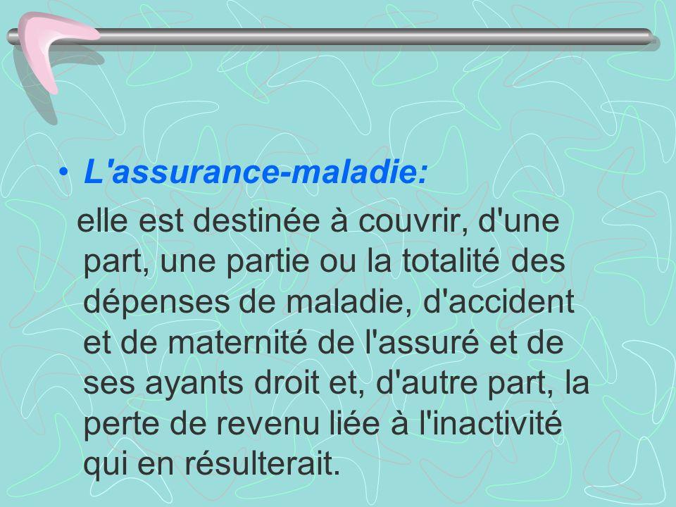 L assurance-maladie: