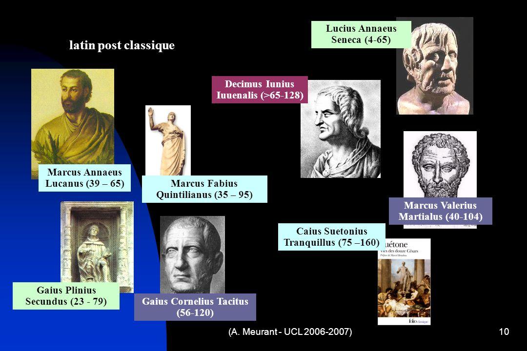 latin post classique Lucius Annaeus Seneca (4-65)
