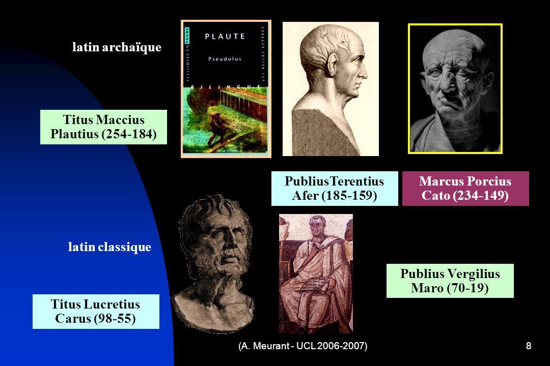 Titus Maccius Plautius (254-184)