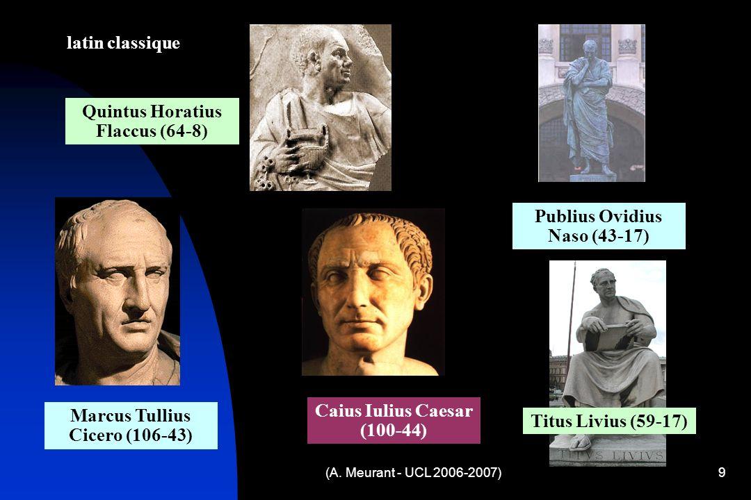 Quintus Horatius Flaccus (64-8)