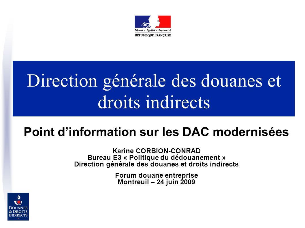 Direction générale des douanes et droits indirects