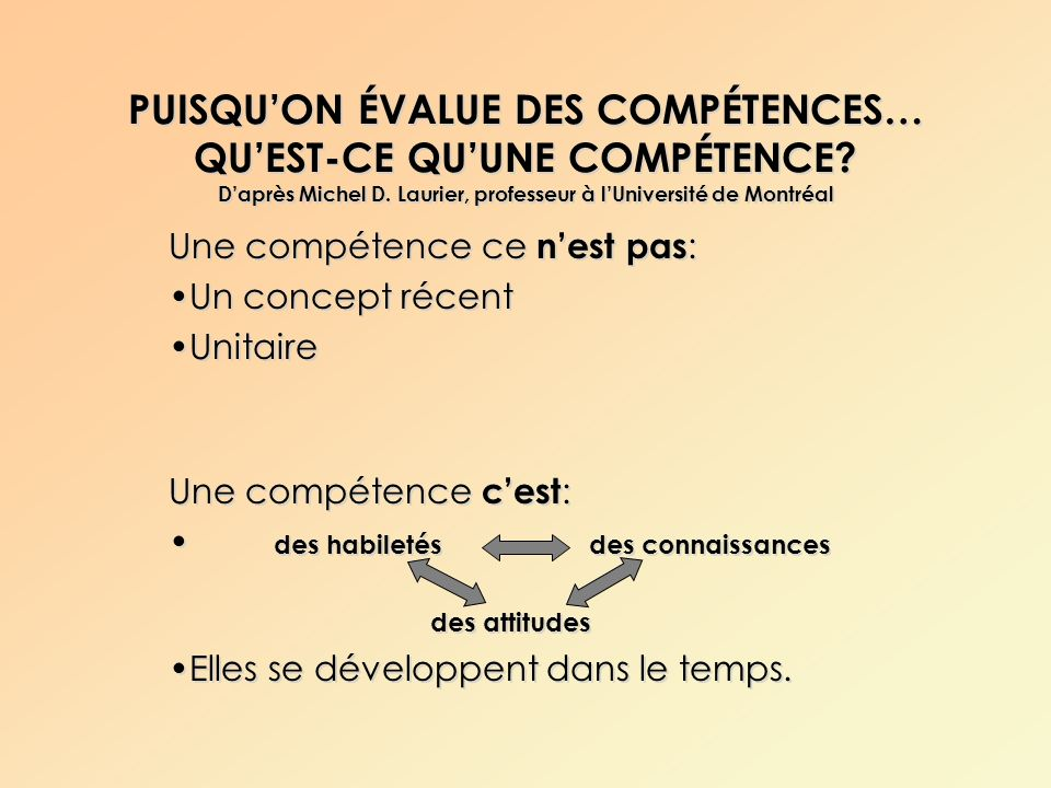 formation en  u00e9valuation formationsc2 no 08  u00c9valuer des comp u00c9tences