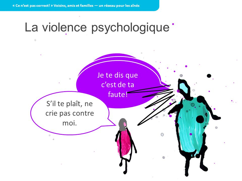 La violence psychologique