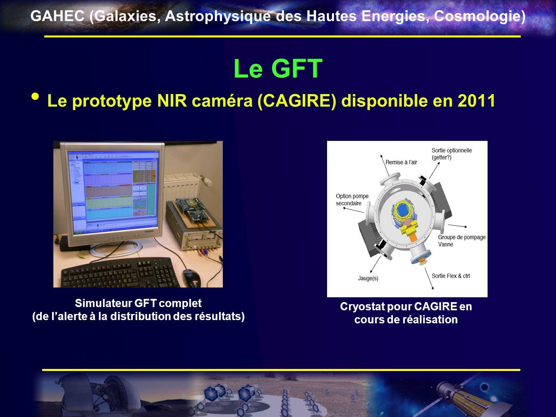 Le GFT Le prototype NIR caméra (CAGIRE) disponible en 2011
