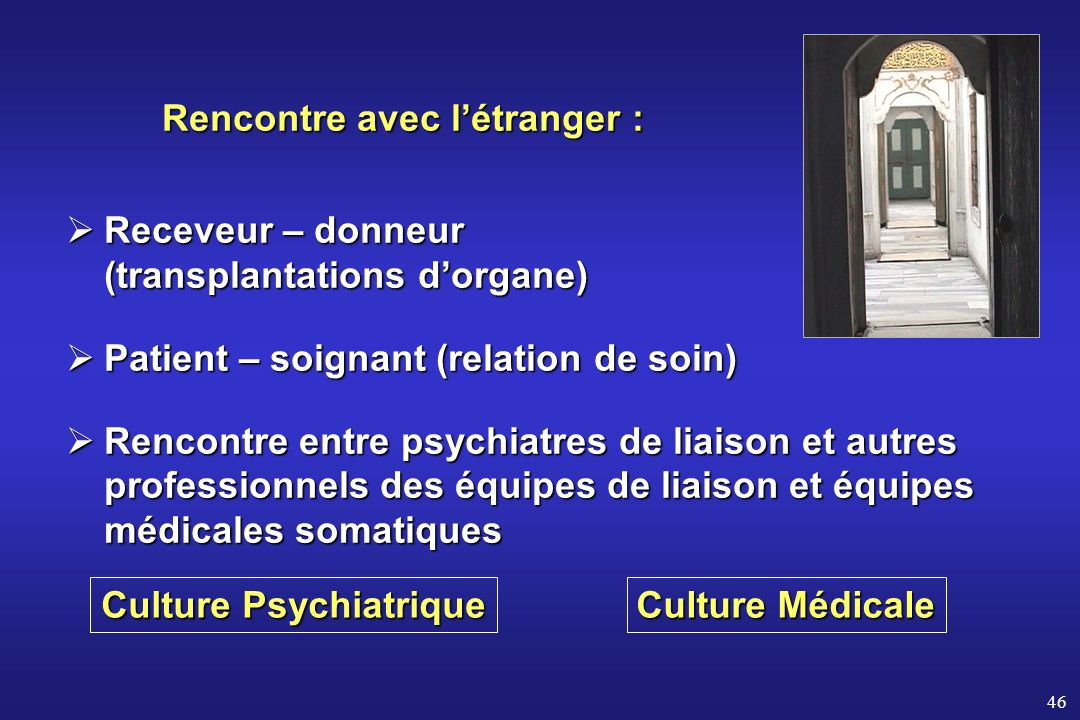 Culture Psychiatrique