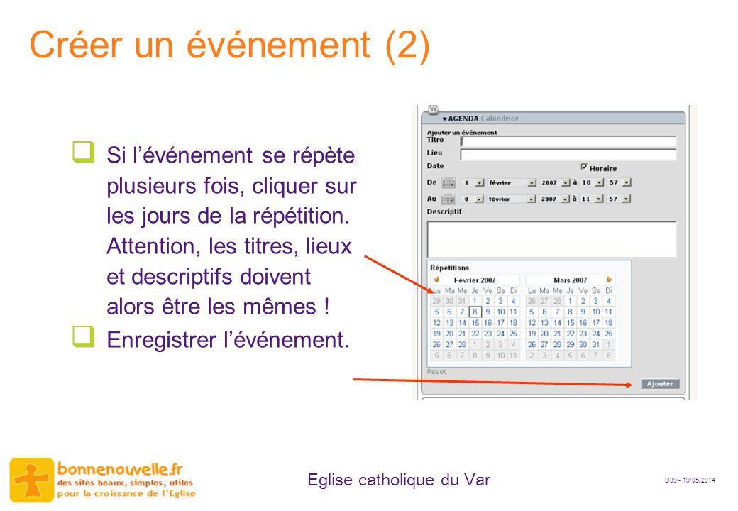 Créer un événement (2)