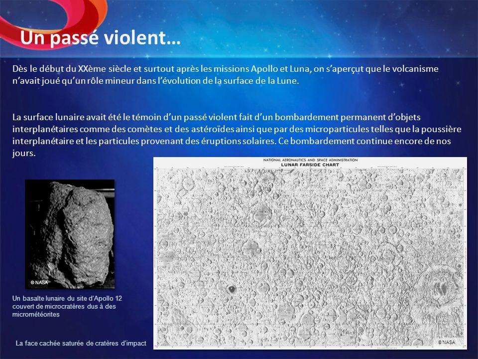La face cachée saturée de cratères d'impact