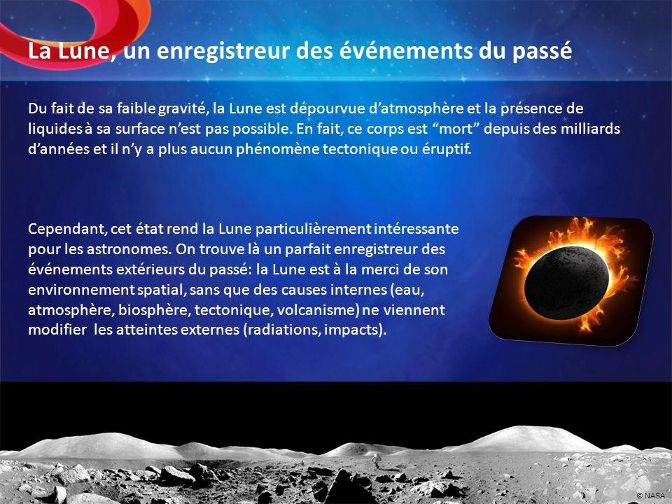 La Lune, un enregistreur des événements du passé