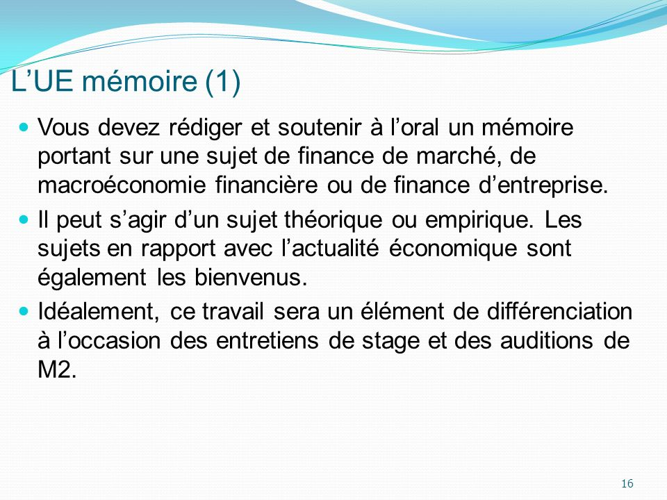 L'UE mémoire (1)