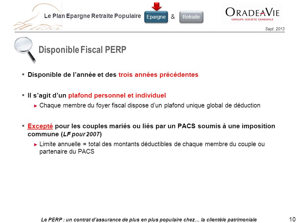 Disponible Fiscal PERP