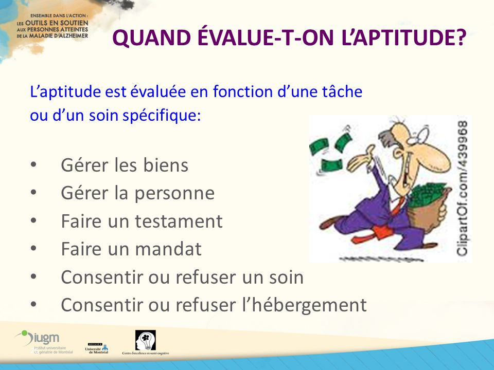 QUAND ÉVALUE-T-ON L'APTITUDE