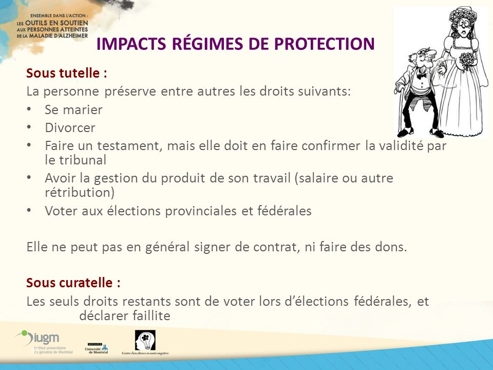 IMPACTS RÉGIMES DE PROTECTION
