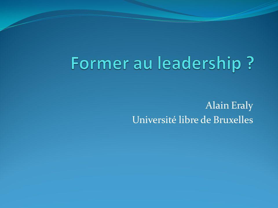 Alain Eraly Université libre de Bruxelles