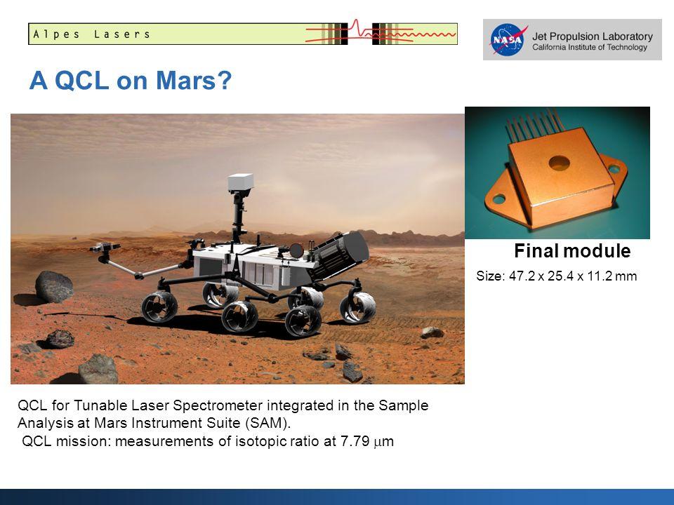 A QCL on Mars Final module