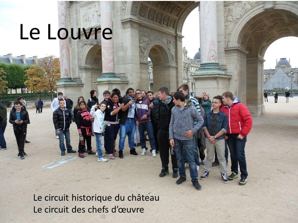 Nous avons visité le musée du Louvre