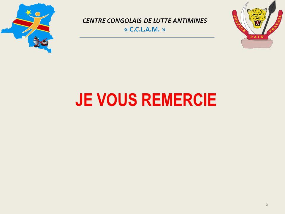 CENTRE CONGOLAIS DE LUTTE ANTIMINES