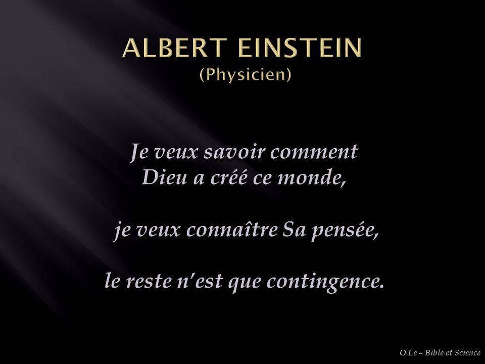 ALBERT EINSTEIN (Physicien)