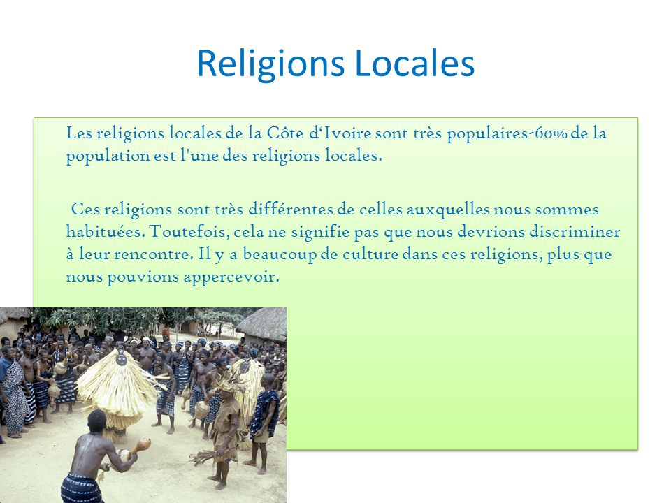 Religions Locales