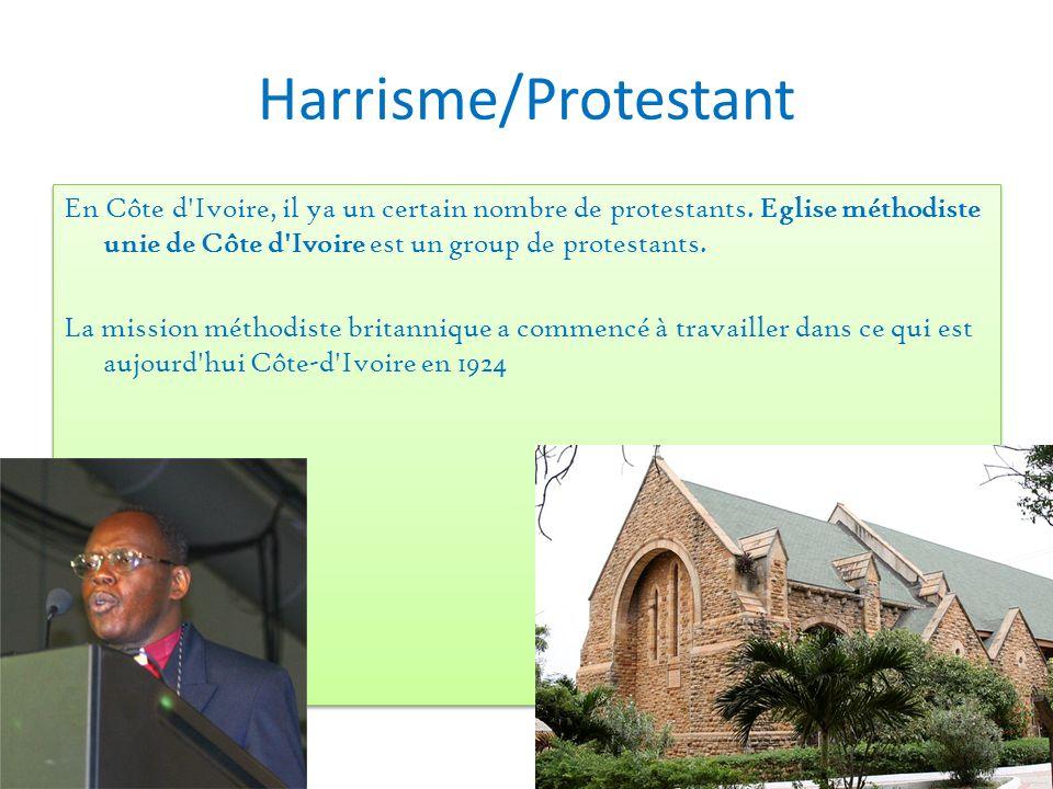 Harrisme/Protestant