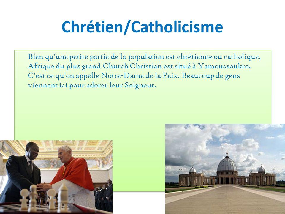 Chrétien/Catholicisme