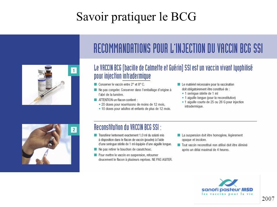Savoir pratiquer le BCG