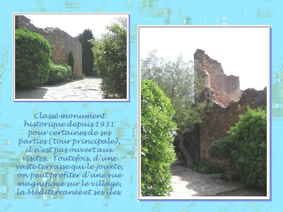 Classé monument historique depuis 1931 pour certaines de ses parties (tour principale), il n est pas ouvert aux visites.