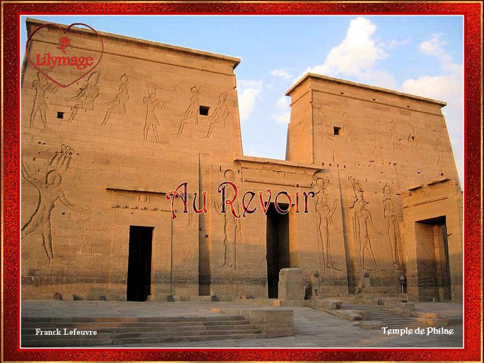 Au Revoir Temple de Philae