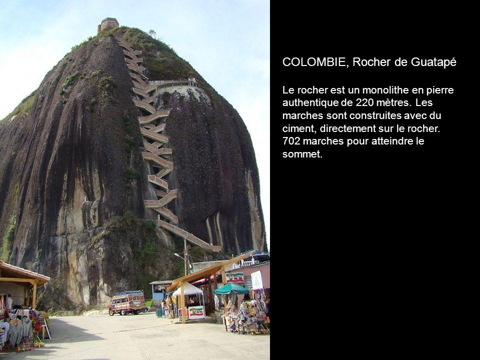 COLOMBIE, Rocher de Guatapé
