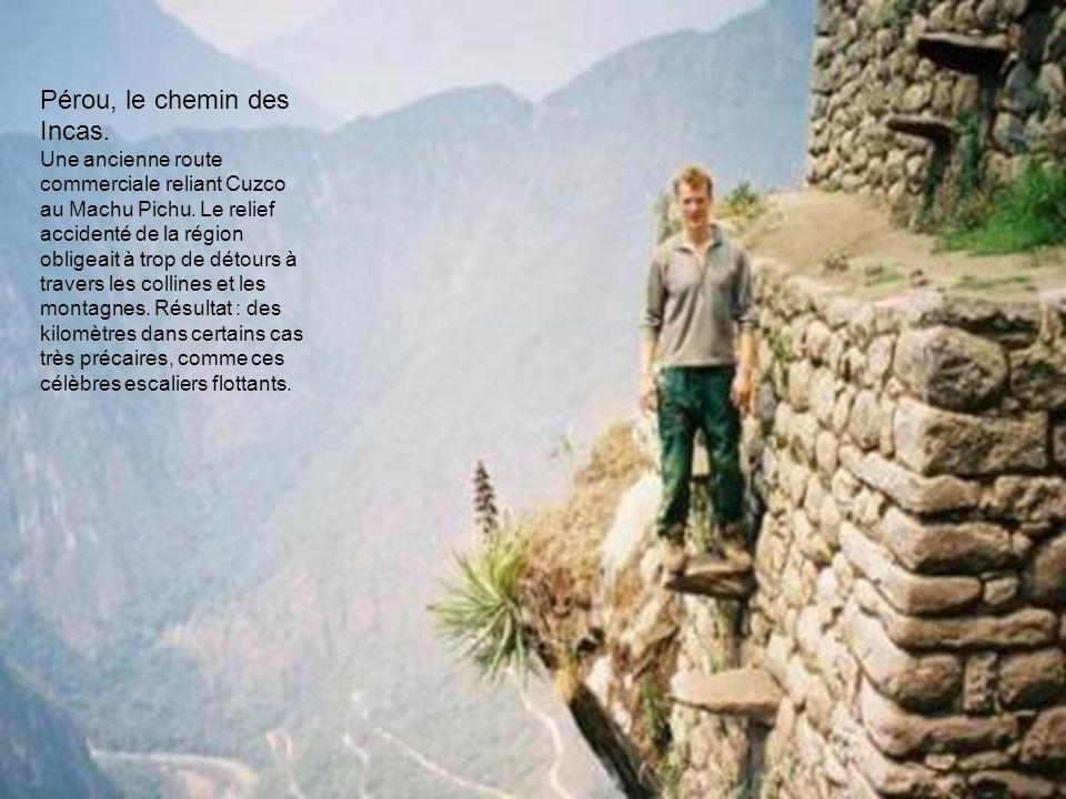 Pérou, le chemin des Incas.