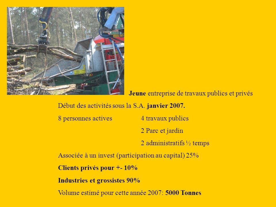 Jeune entreprise de travaux publics et privés