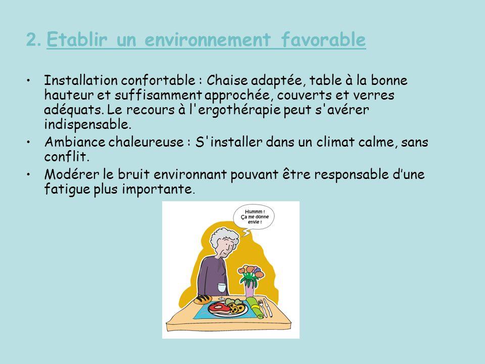 2. Etablir un environnement favorable