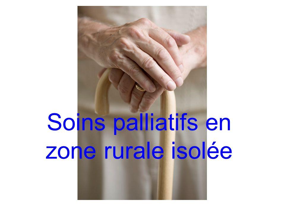 Soins palliatifs en zone rurale isolée