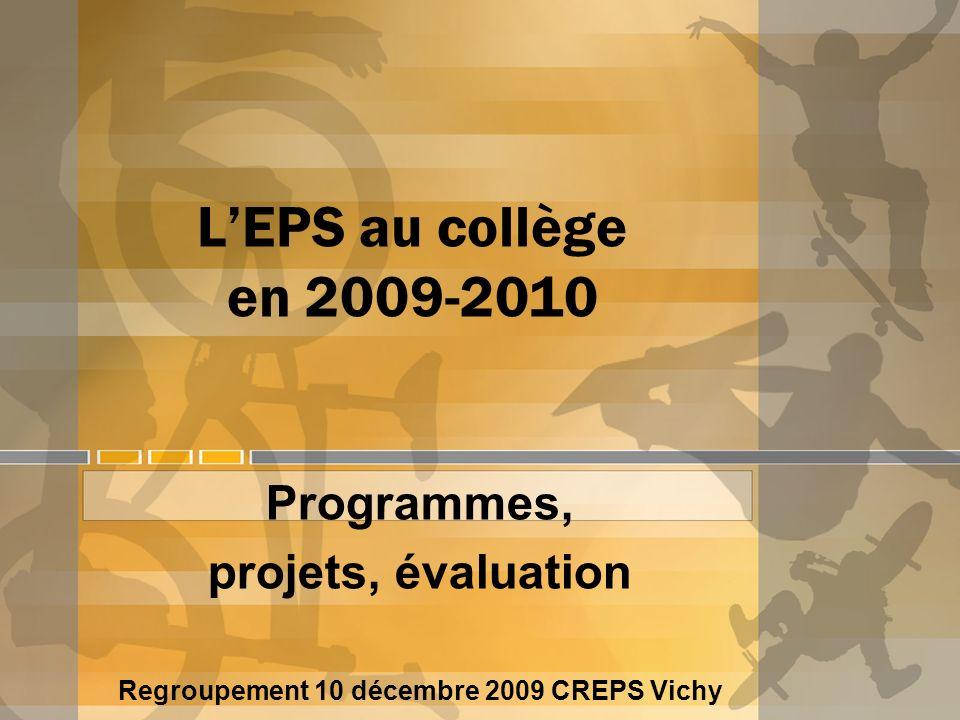 Regroupement 10 décembre 2009 CREPS Vichy