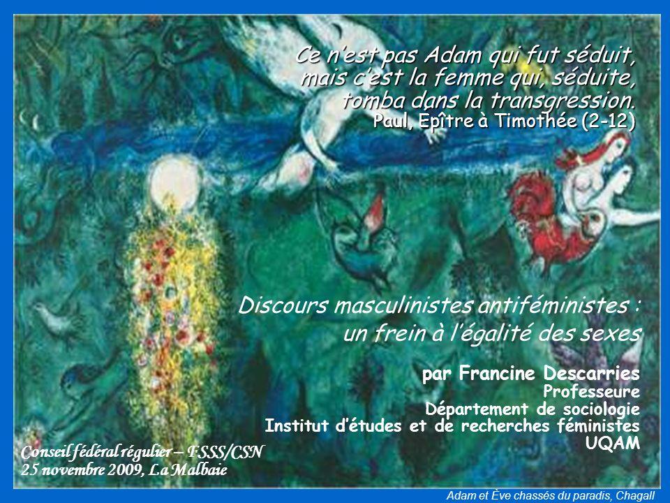Adam et Ève chassés du paradis, Chagall