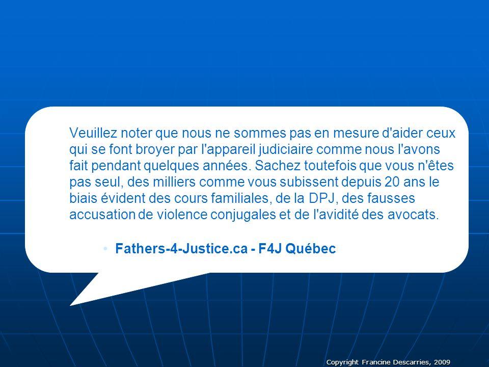 Fathers-4-Justice.ca - F4J Québec