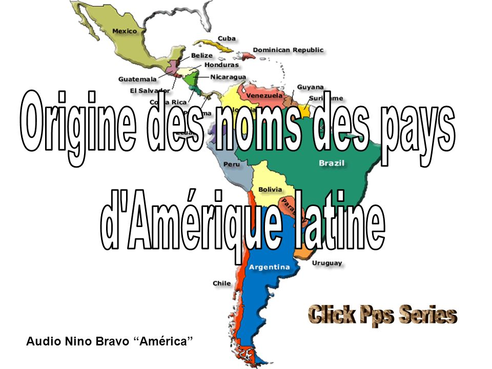 Origine des noms des pays