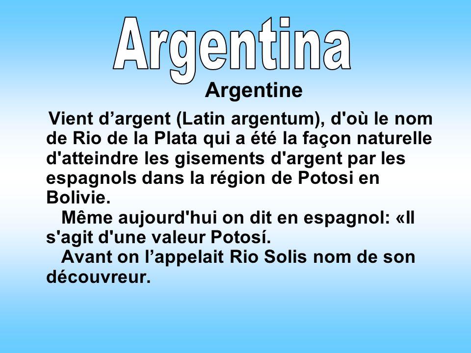 Argentina Argentine.