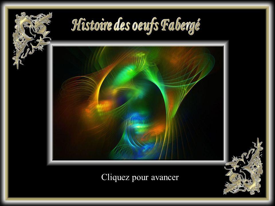 Histoire des oeufs Fabergé