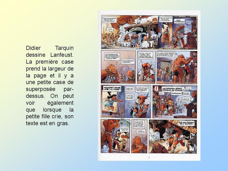 Didier Tarquin dessine Lanfeust