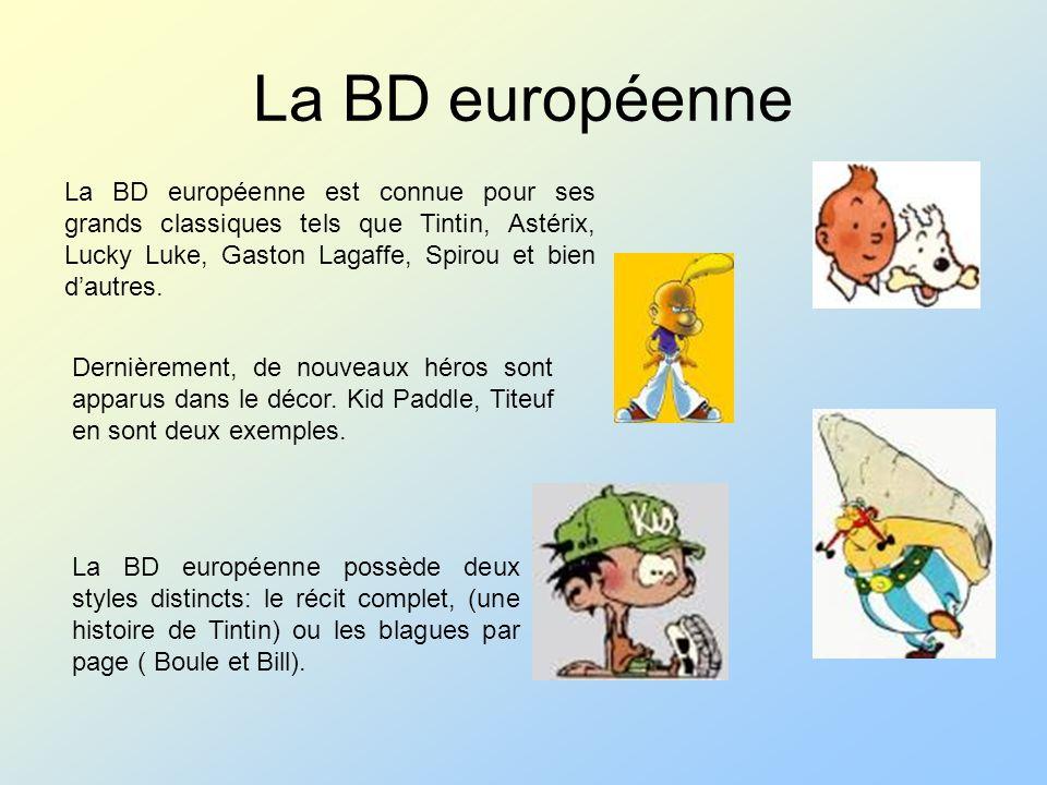 La BD européenne