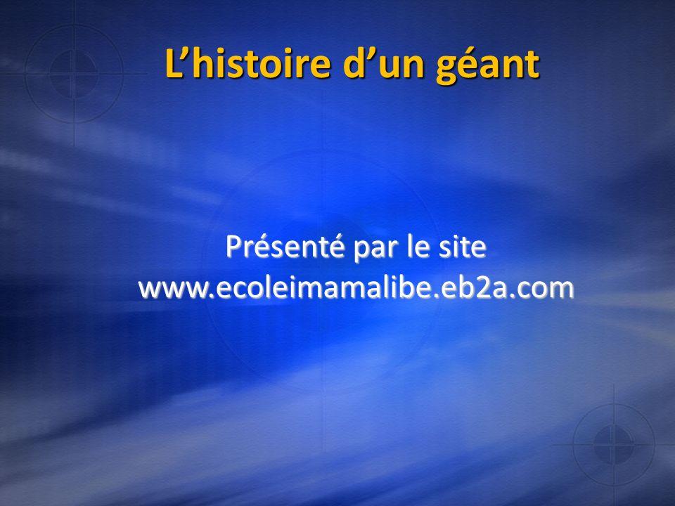 Présenté par le site www.ecoleimamalibe.eb2a.com