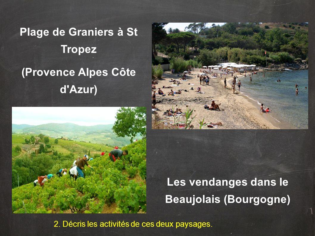 Plage de Graniers à St Tropez