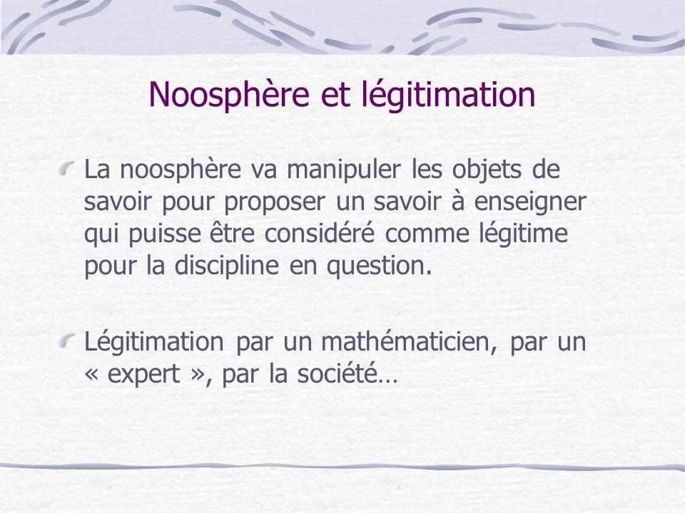 Noosphère et légitimation