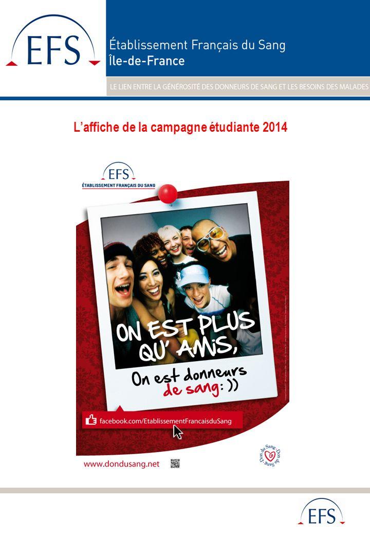 L'affiche de la campagne étudiante 2014