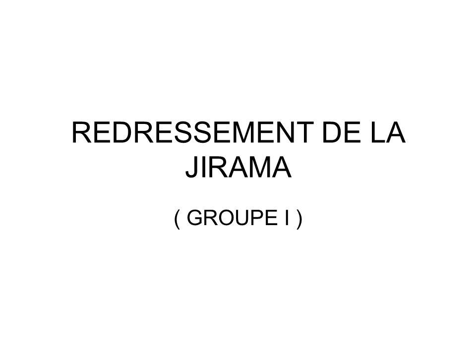 REDRESSEMENT DE LA JIRAMA