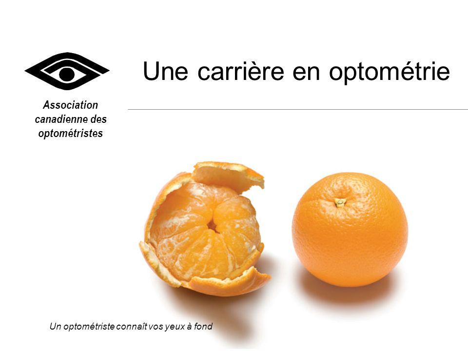 Une carrière en optométrie