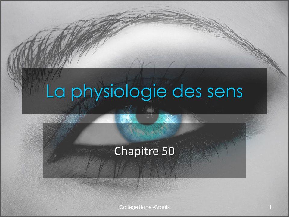 La physiologie des sens