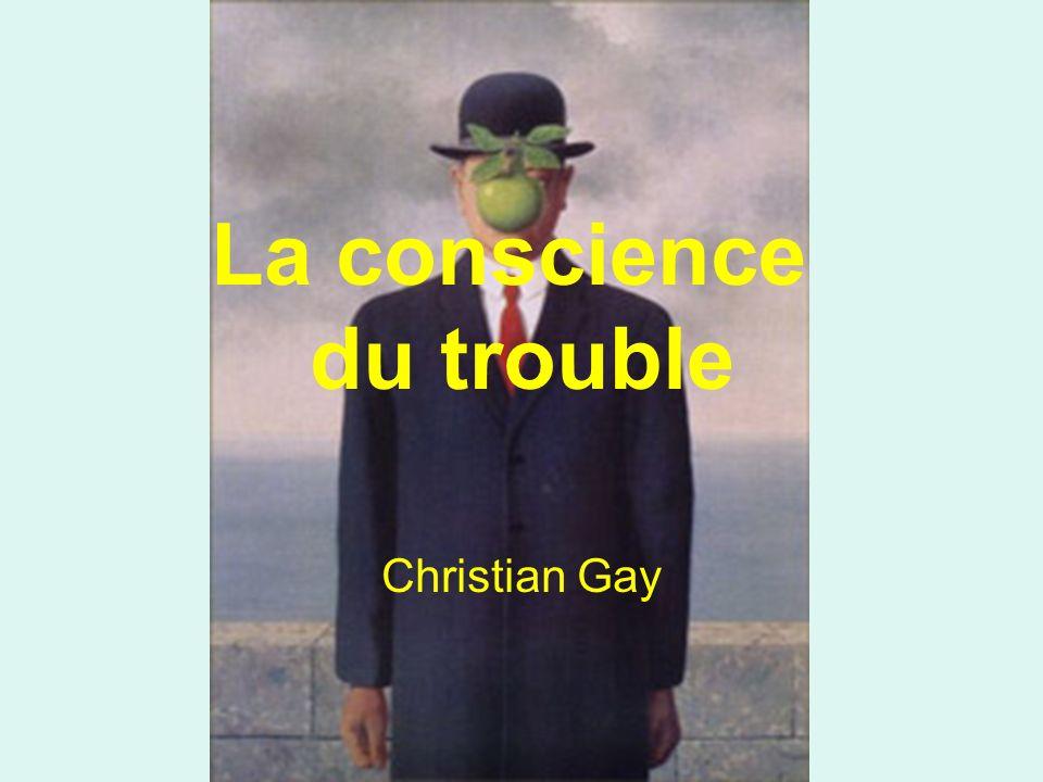 La conscience du trouble