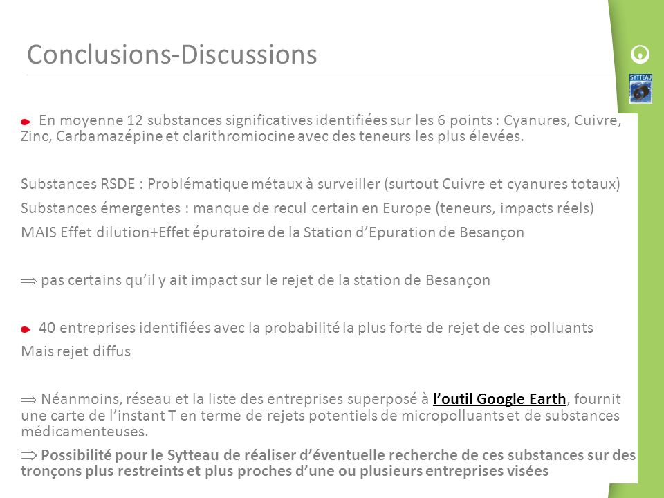 Conclusions-Discussions