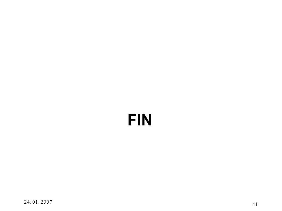 FIN 24. 01. 2007